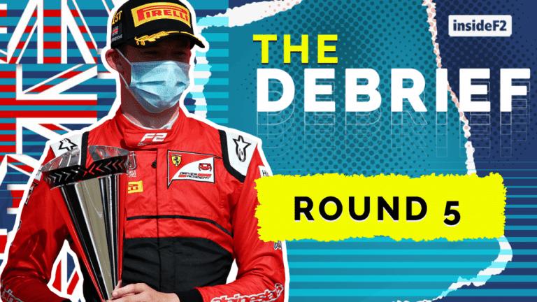THE DEBRIEF - Round 5 Silverstone Formula 2
