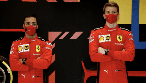 Both Shwartzman and Fuoco to Test for Ferrari